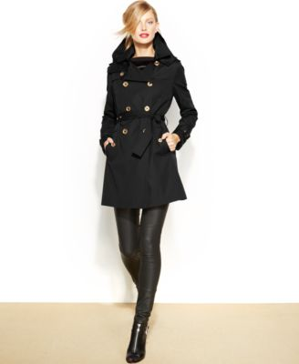 MICHAEL Michael Kors RemovableLiner Trench Coat