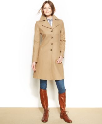 Tommy Hilfiger WoolBlend Walker Coat