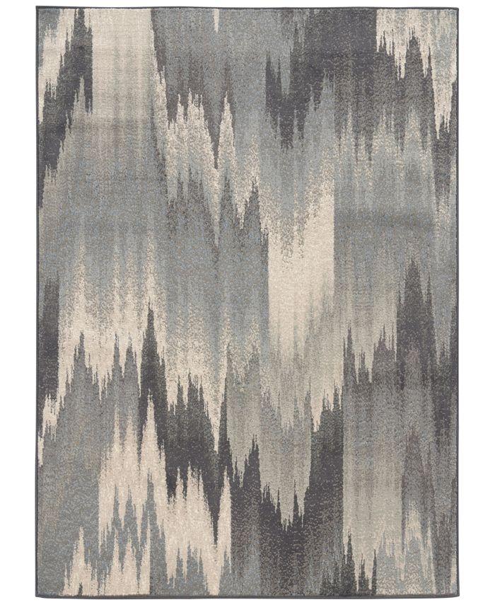 "Oriental Weavers - Warren Cove WC8020L Vision 1'10"" x 7'3"" Runner Rugs"
