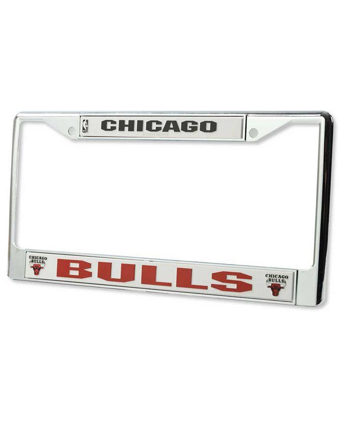 Rico Industries - Chicago Bulls Chrome License Plate Frame