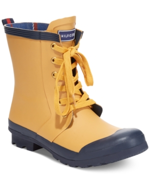 Tommy Hilfiger Renegade Rain Booties Womens Shoes