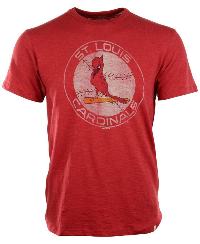 '47 Brand - Men's St. Louis Cardinals Scrum Logo T-Shirt