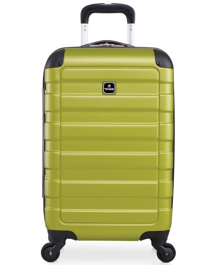 """Tag - Matrix 20"""" Lightweight Carry On Hardside Spinner Suitcase"""