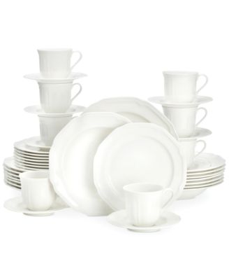 Mikasa Antique White 40-Pc. Dinnerware Set, Service for 8