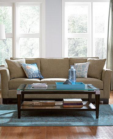Kenton Fabric Sofa Living Room Furniture Collection Furniture Macy 39 S