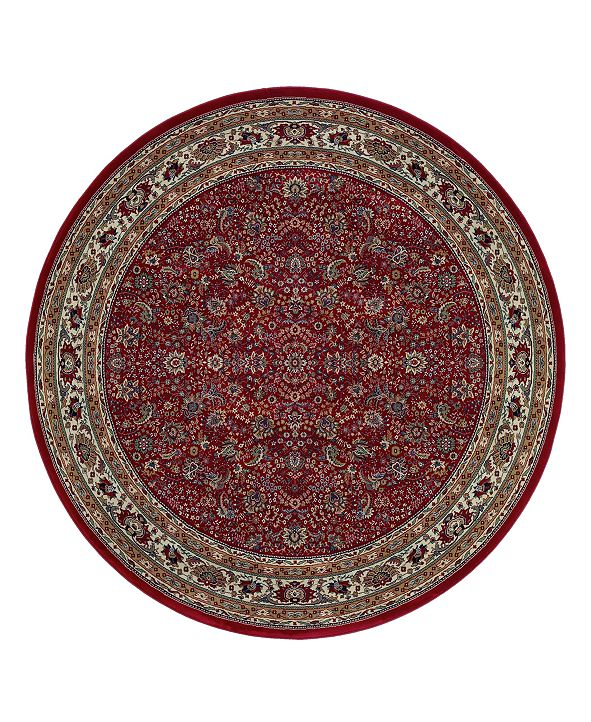 Oriental Weavers Rugs, Ariana Red Sarouk 113R Round