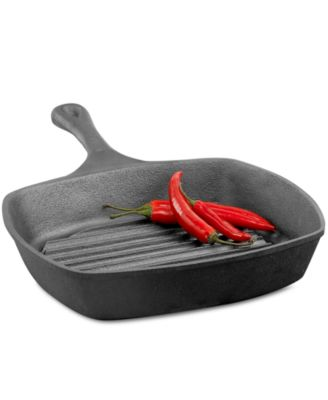 "Emeril by All-Clad Cast Iron 10"" Grill Pan"