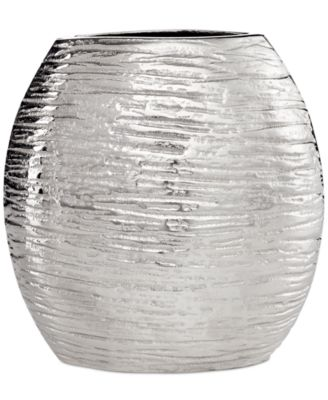 Simply Designz D®cor, Metallic Oval Vase