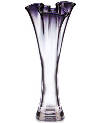 "CLOSEOUT! Lenox Organics Ombre Cylinder Vase 10"""