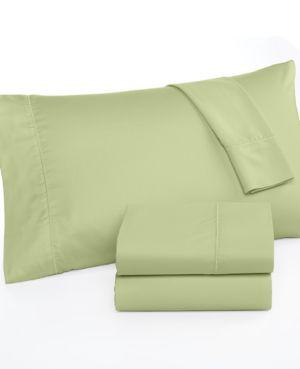Closeout! Martha Stewart Collection 300 Thread Count Cotton King Flat Sheet Bedding