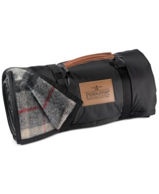 Pendleton Blankets, Roll-Up Outdoor Nylon Reverse Wool Blanket