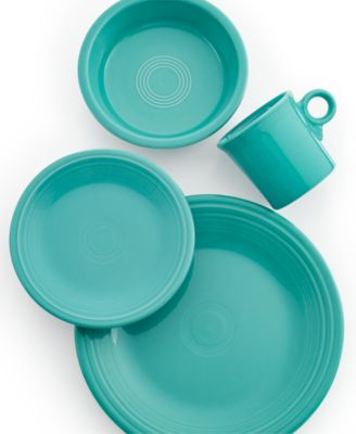 Turquoise 4-Piece Place Setting