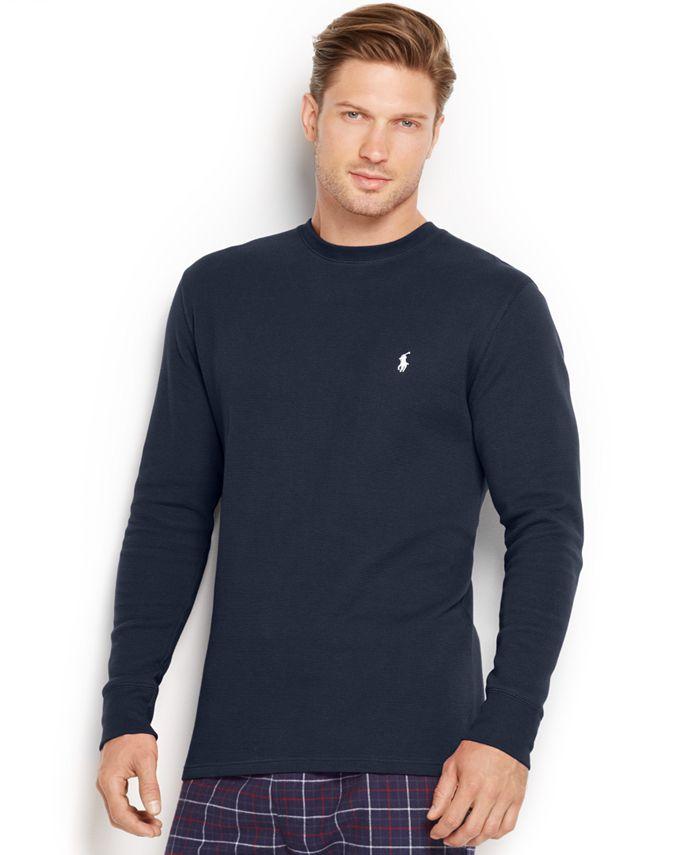Polo Ralph Lauren - Men's Thermal Crew-Neck Shirt