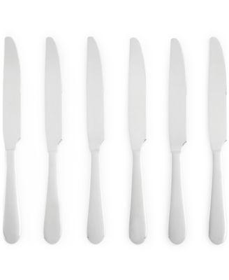 Martha Stewart Collection Everyday Entertaining Bartlett Set of 6 Dinner Knives