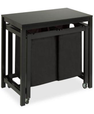 Honey Can Do Double Laundry Sorter Folding Table