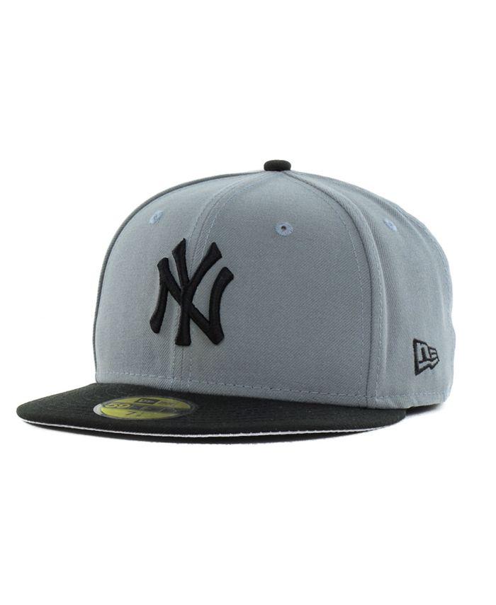 New Era - New York Yankees FC Gray Black 59FIFTY Cap