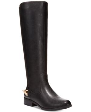 Nautica Womens Regatta Tall Stretch Back Boots-a Macys Exclusive Womens Shoes