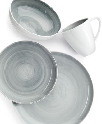 Savona Grey Oval Platter