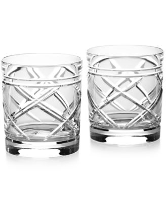 Ralph Lauren Brogan Classic Double Old-Fashioned Glasses, Set of 2