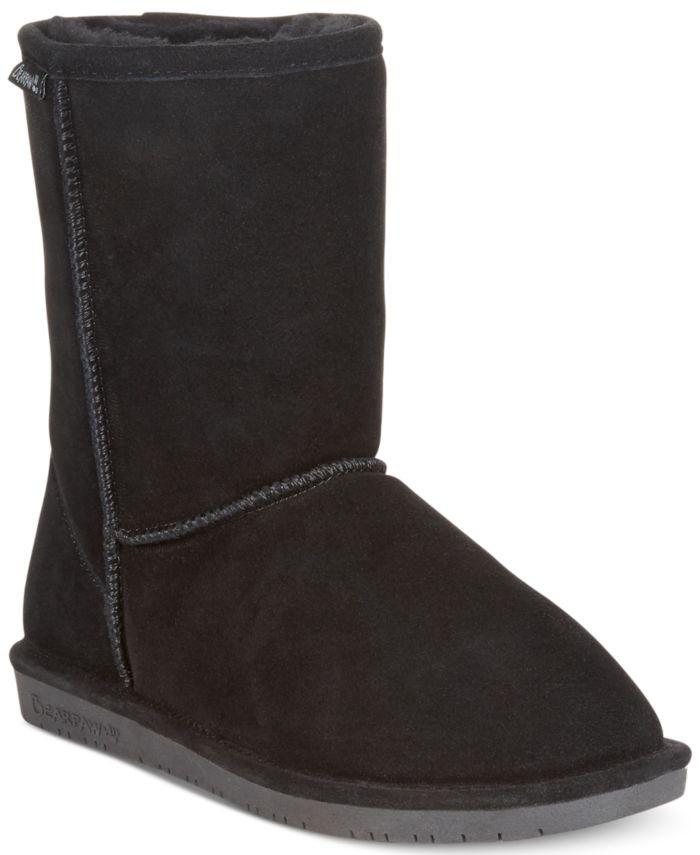 BEARPAW Emma Short Winter Boots & Reviews - Boots - Shoes - Macy's