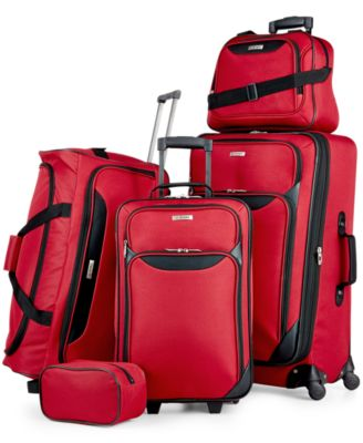 Tag Springfield III 5 Piece Luggage Set, Only at Macy's