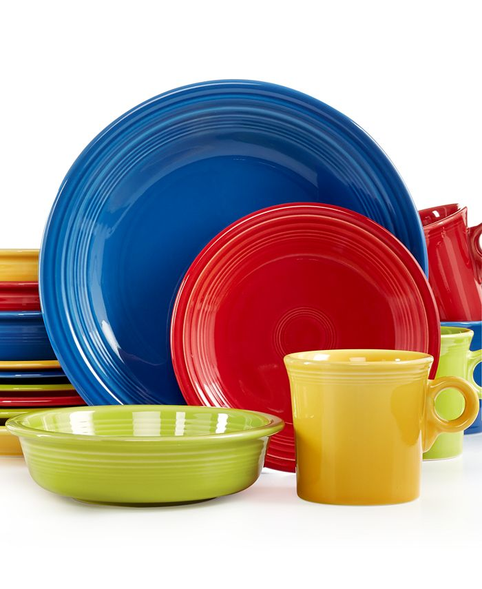 Fiesta - Mixed Bright Colors 16-Piece Set