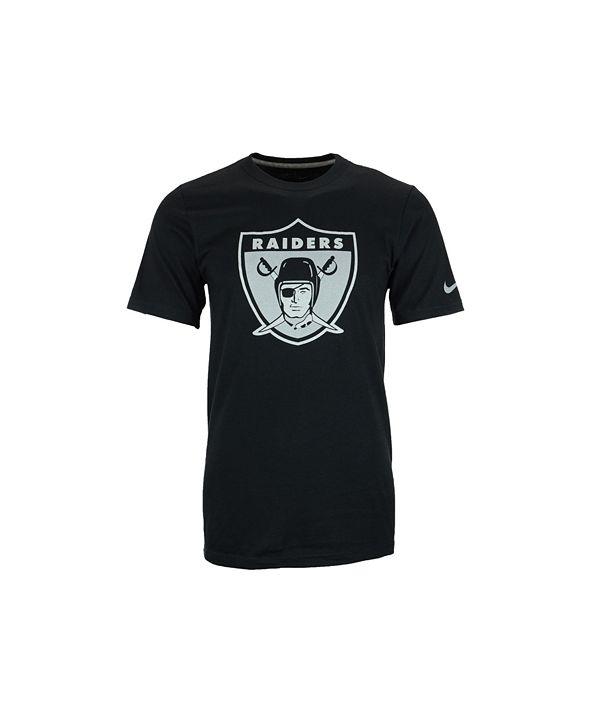 Nike Men's Oakland Raiders Retro Logo T-Shirt