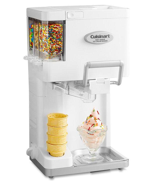 Cuisinart ICE-45 Ice Cream Maker, Soft Serve Mix-it-In