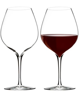 Waterford Elegance Merlot Wine Glass Pair