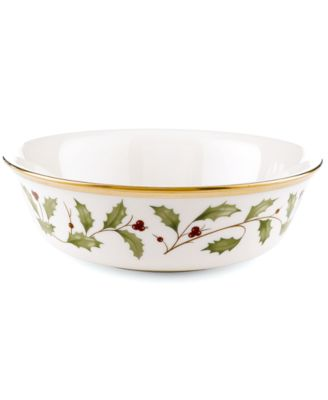 Lenox Dinnerware, Holiday All Purpose Bowl