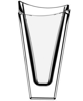 Orrefors Polaris Small Crystal Vase