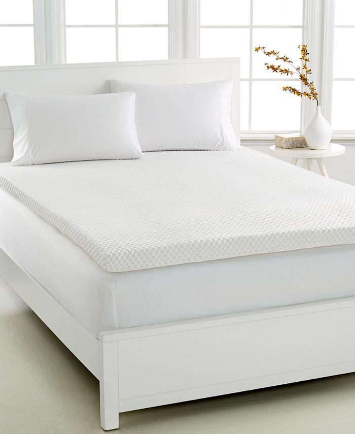 Martha Stewart Collection - Martha Stewart Collection Dream Science Memory Foam Sleep System 3'' Mattress Toppers