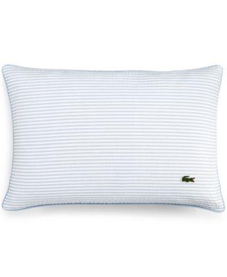 """Lacoste Home Seersucker 12"""" x 18"""" Decorative Pillow"""