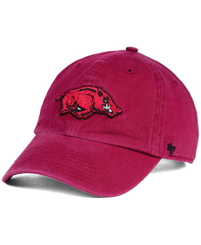 '47 Brand - Arkansas Razorbacks Clean-Up Cap