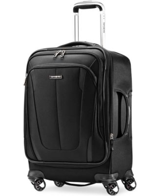 "Samsonite Silhouette Sphere 2 21"" Carry On Spinner Suitcase, Available in Ruby Red, a Macy's Exclusive Color"