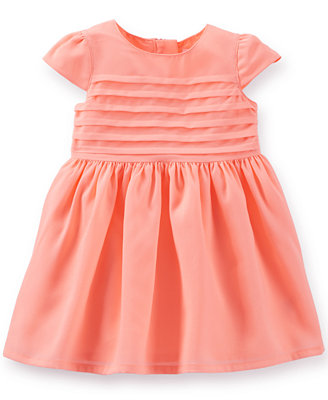 Carter's Baby Girls' Pleated Dress