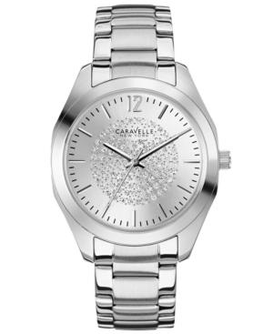 Caravelle New York by Bulova Women's Stainless Steel Bracelet Watch 36mm 43L179