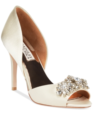 Badgley Mischka Giana Evening Pumps Women's Shoes