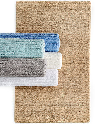 Martha Stewart Collection Cozy Textured Rugs Bath Rugs Bath Mats Bed Bath Macy 39 S