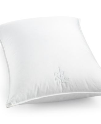 Lauren Ralph Lauren AAFA® Certified Hypoallergenic Medium Density Down King Knife-Edge Pillow