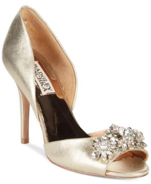 Badgley Mischka Giana Ii Evening Pumps Women's Shoes
