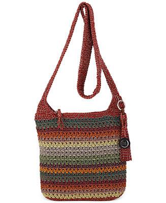 The Sak Casual Classics Crochet Crossbody Jewelry