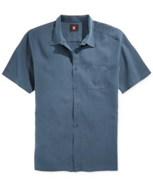 Quiksilver The Guy Solid Pocket Shirt $52.00 AT vintagedancer.com