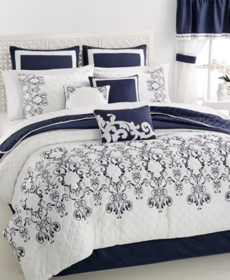 CLOSEOUT! Leonelli 22-Pc. Queen Comforter Set