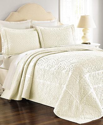martha stewart collection flowering trellis ivory bedspreads id