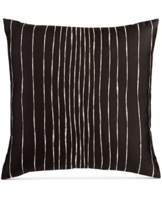 "Hotel Collection Emblem 18"" Square Decorative Pillow, Only at Macy's"