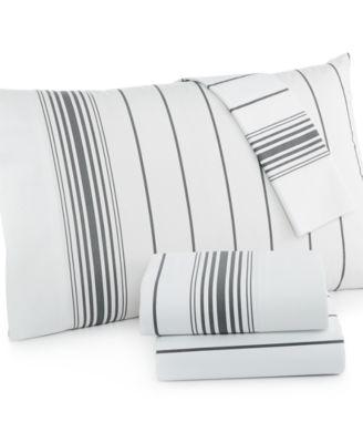 Tommy Hilfiger Buckaroo Queen Stripe Sheet Set