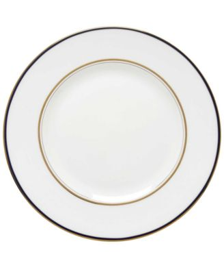 kate spade new york Library Lane Navy Dinner Plate