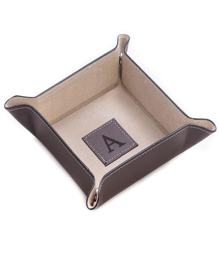 Bey-Berk - Brown Leather Snap Valet