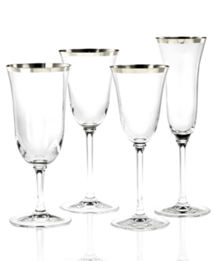 "Vera Wang ""Classic Banded Platinum"" Iced Beverage Glass"